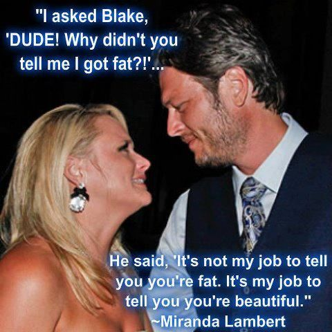 this is precious, blake shelton is literally living proof that there are