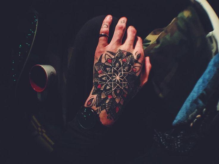 by Olafs Taube @rebeltattooriga  #mandala #ink #inked #riga #rebel #tattoo #wristtattoo by patrickganaga pinned by KIRSE