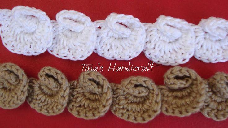shell  crochet cord