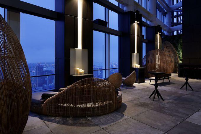 Andaz Tokyo Looftop Bar at Toranomon Hills - photo by Nacasa and Partners