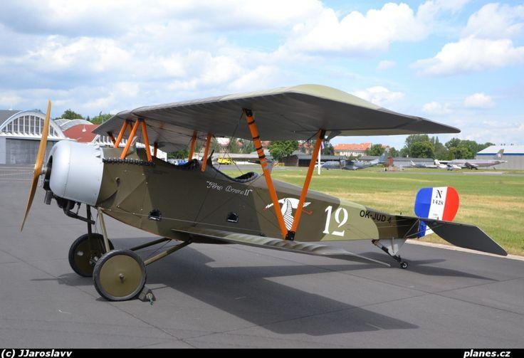 OK-JUD04 - ULL (Nieuport 12) - Praha - Kbely (LKKB) - planes.cz
