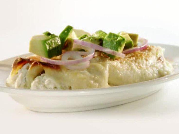 Rachael ray 39 s creamy fish enchiladas used swai fish used for Swai fish recipes food network