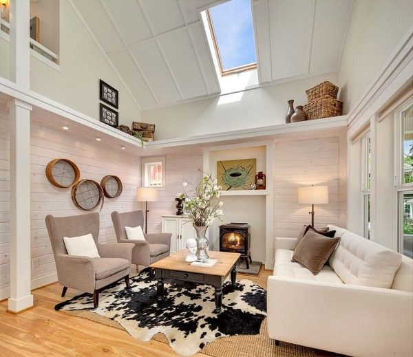 LOVE THIS TINY HOME... Kvale Hytte Cottage at Conover Commons Pocket Community 008