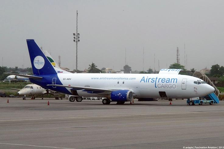 • The African Aviation Tribune •: ►► NIGERIA: Airstream Aviation starts cargo ops using wetleased B737-400F.