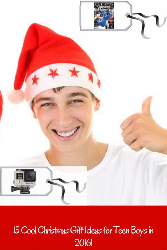 Check out there 15 Cool Christmas Presents for Teenage Boys in 2016! #ChristmasGiftIdeas