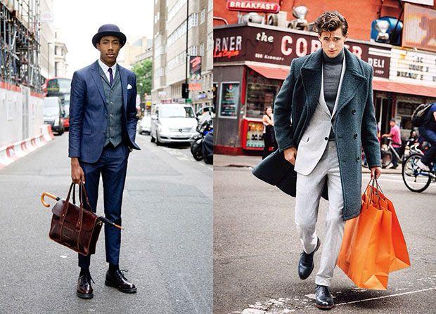 Great suit combination. Modern Dandy.