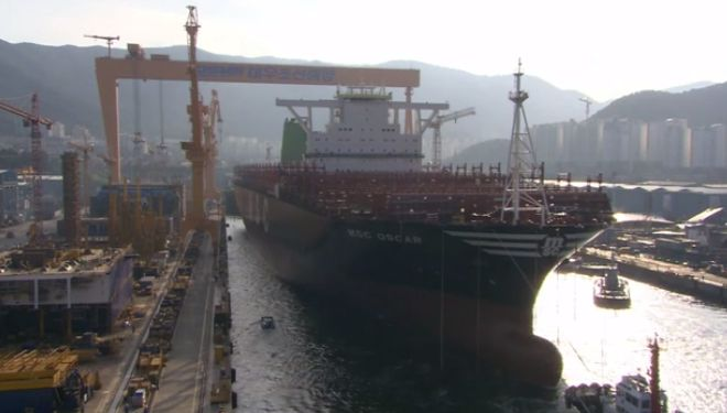 MSC To Launch The World's Largest Container Ship – MSC Oscar