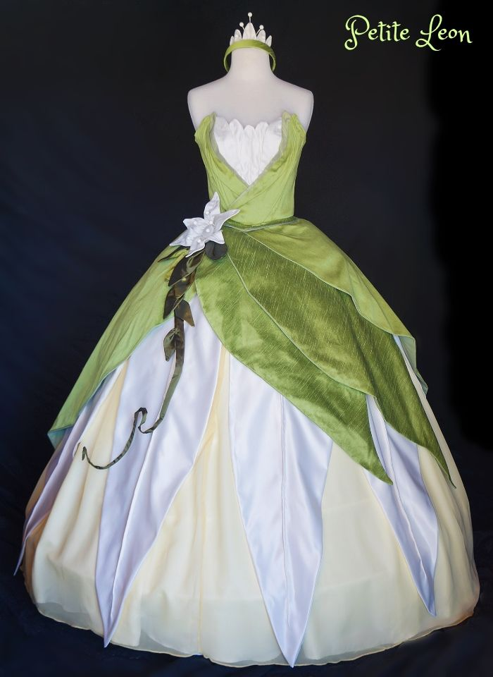 29 best princess costumes images on pinterest carnivals for Princess tiana wedding dress
