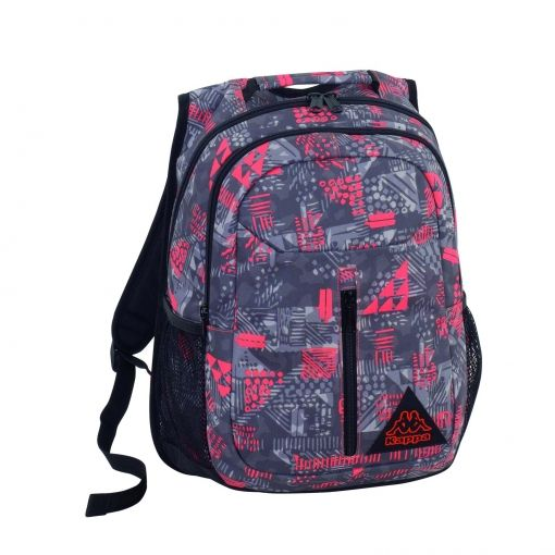 Backpack Red Orange Kappa Mochilas Mochilas Con Ruedas Y Estuche
