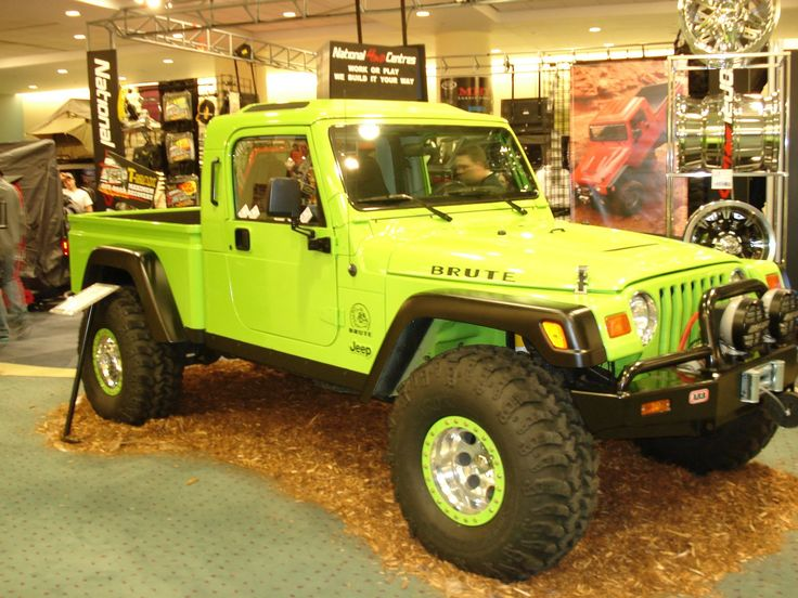 Jeep Brute | Jeep Brute at Auto Show | Jeep Enthusiast