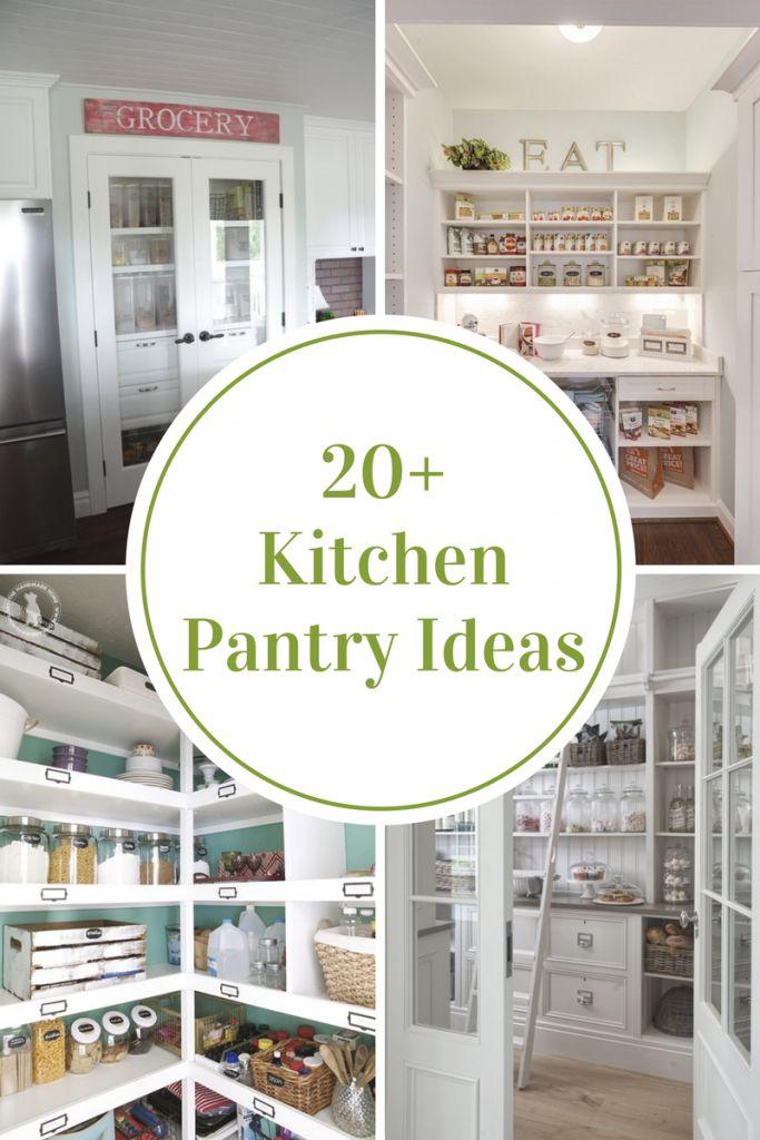Unique Organized Kitchen Pantry Ideas