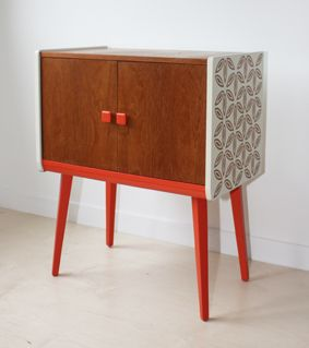 Revamped Vintage Cupboard | Mid Century