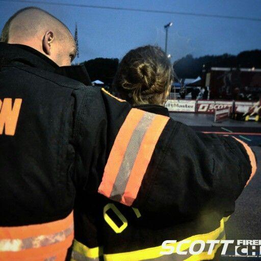 Scott Firefighter Combat Challenge.... toughest few minutes of my life.