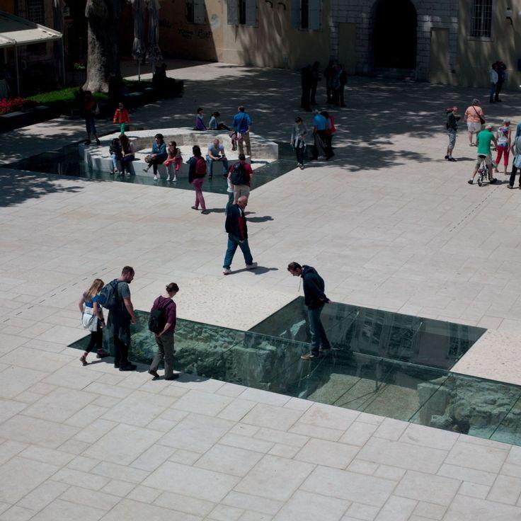 Petar Zoranić Square and Šime Budinić Plaza / Kostrenčić-Krebel