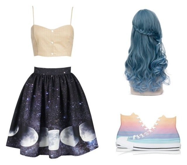 """""""Four for Fashion. #FFF08"""" by afifahafifa on Polyvore featuring Leith, Converse, look, dreamy and reference"""