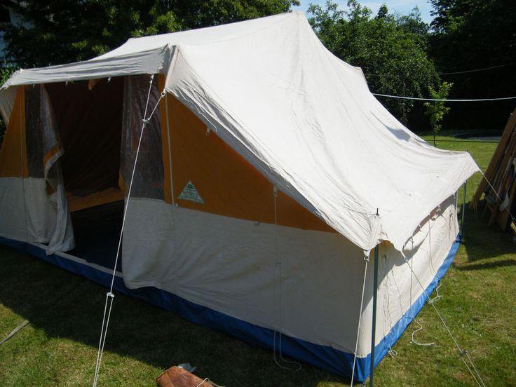Familien Zelt, WHG Vollschutzzelt, Grossraumzelt, Gruppenzelt, mit Boden