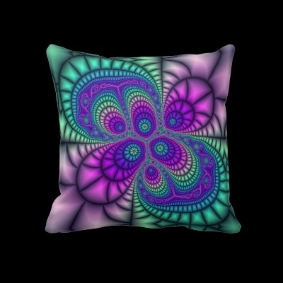 Cellular Mosaic  Throw Pillow from Bill M. Tracer Studio  Available at Zazzle, found at: http://www.zazzle.com/cellular_mosaic_throw_pillow-189687282280776485#