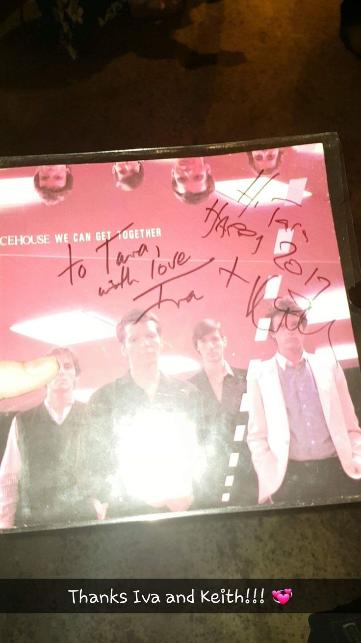 Finally got my 45 signed by the founders of Icehouse, when they were the Flowers!!!