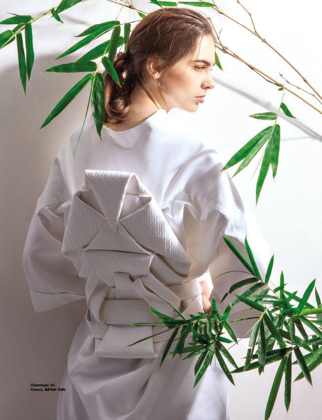 "as Head Stylist Assistant, ""Botanical White"" - Harper's Bazaar Dec 2016"