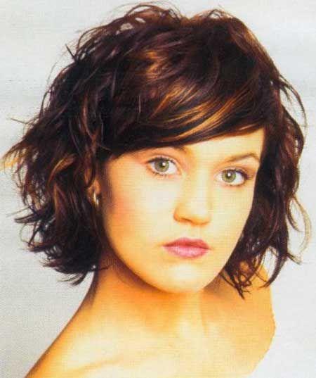 Short Wavy Haircuts | 2013 Short Haircut for Women-love the bangs