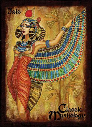 Isis Base Card Art - Soni Alcorn-Hender by *Pernastudios on deviantART