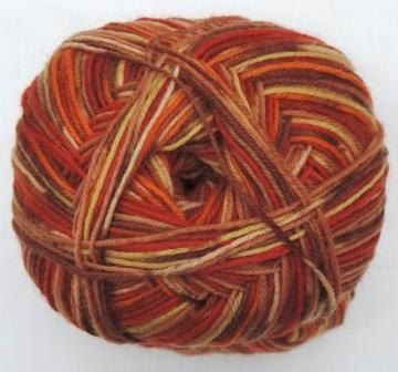 Hot Socks Stripes 4-fach superwash - Autumn stripes 1661-612, 75% Merino superwash by ColorfullmadeShop on Etsy