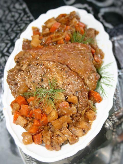Karkówka w warzywach (prawie po grecku) | sio-smutki! Monika od kuchni