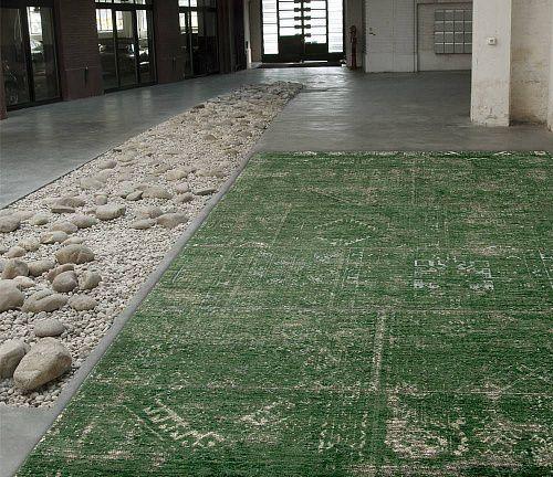 Безворсовый ковер Bubble Green из хлопка и шерсти. Бренд - Бельгия! #ковры #ковер #дизайн #интерьер #дизайнинтерьера #designer #interior #designerinterior #rug #carpets