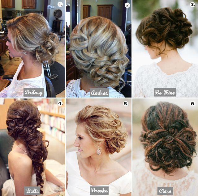 I never thought I would want an updo for my wedding, but they are just too gorgeous! I don't know if my hair would do this though...