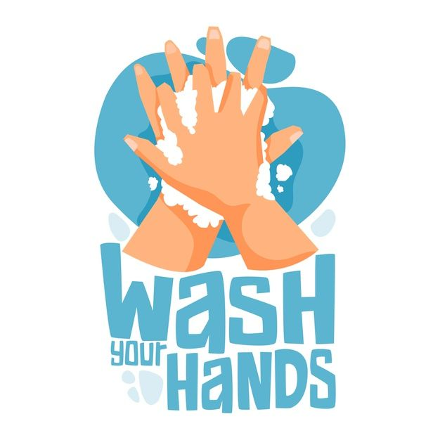 Wash Your Hands With Soap And Water Wash Logo Vector Free Hand Logo