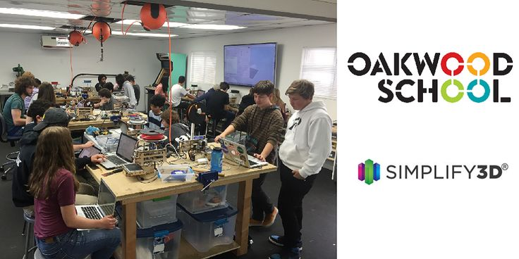 Oakwood School: California K-12 Students Teach Each Other 3D Printing Through Cascaded Learning in Immersion Program  There are many subjects students simply arent wild about from math to chemistry to those pesky grammar courses. Sometimes its hard to get the kids interested in media labs science labs and the... View the entire article via our website. http://ift.tt/1QlNXZt