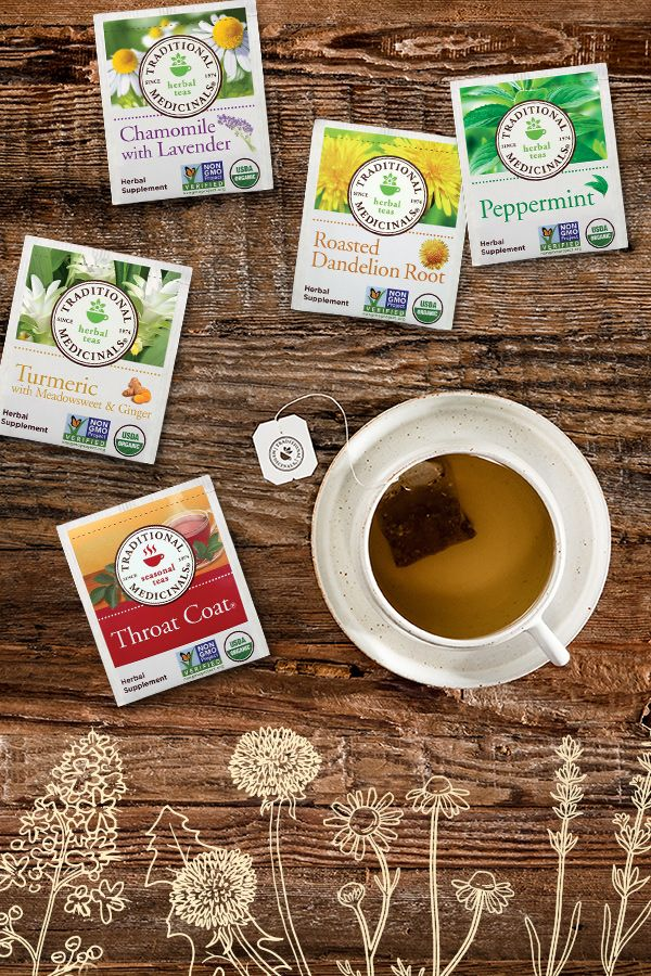 how much herbal tea a day