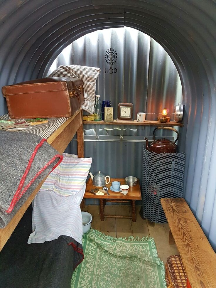 Anderson Shelter at the BCLM 1940s Weekend | The English ...
