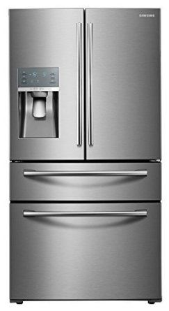 "Samsung Appliance RF28JBEDBSR 36"" Energy Star Rated Food Showcase French Door Refrigerator in Stainless Steel, 2016 Amazon Top Rated Refrigerators  #Appliances"