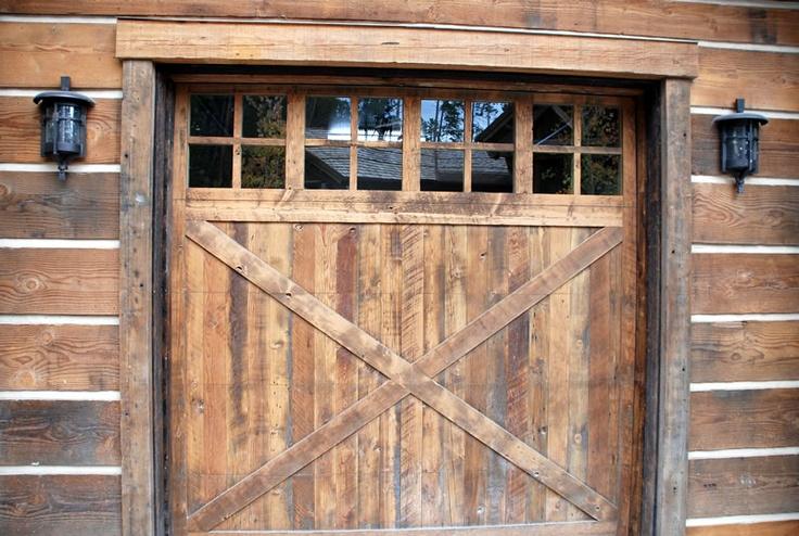 14 Best Rustic Garage Doors Images On Pinterest Wood