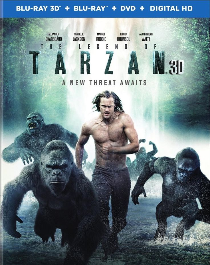 The Legend of Tarzan 3D (2016) Blu-ray