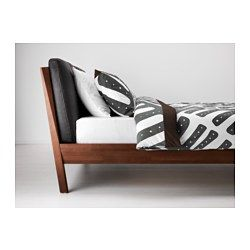 STOCKHOLM Bed frame - Luröy, King - IKEA STOCKHOLM Bed frame, brown, Luröy $1,059.00 The price reflects selected options Article Number: 490.176.74