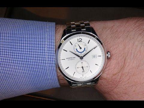 En la muñeca: Montblanc Heritage Chronométrie Dual Time | Horas y Minutos