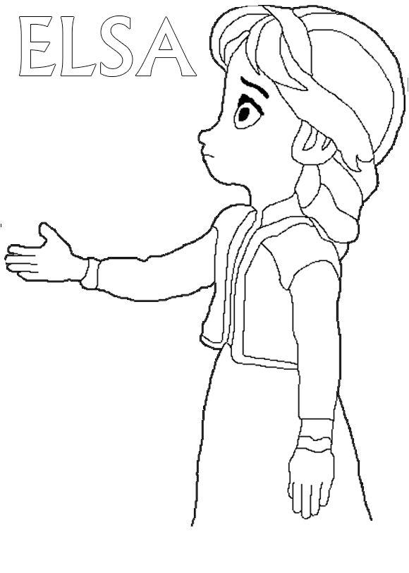 """frozen dibujos pintar  Princesas """"Colorear""""  Pinterest ..."""