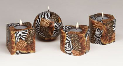 80 Best Images About Animal Print Amp Safari Candles On