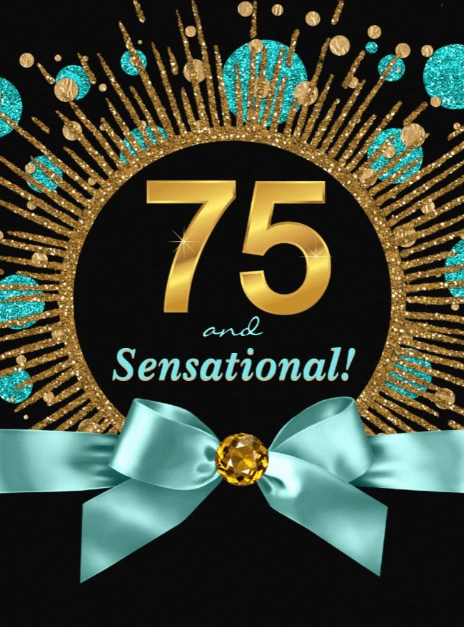25 unique 75th birthday invitations ideas on pinterest for 75th birthday decoration
