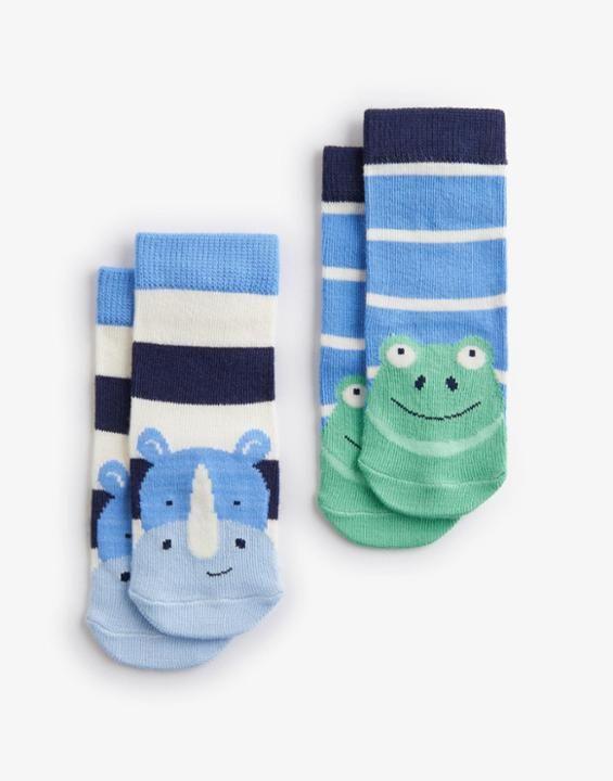 BABYNEATFTB Twin Pack Character Socks