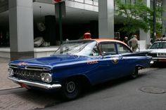 Nassau County, NY PD 1959 Chevy.