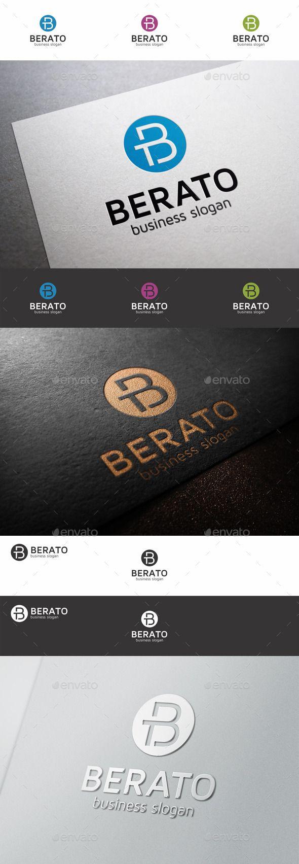 B Letter Berato TB - Logo Design Template Vector #logotype Download it here: http://graphicriver.net/item/b-letter-logo-berato-tb/9228146?s_rank=481?ref=nesto