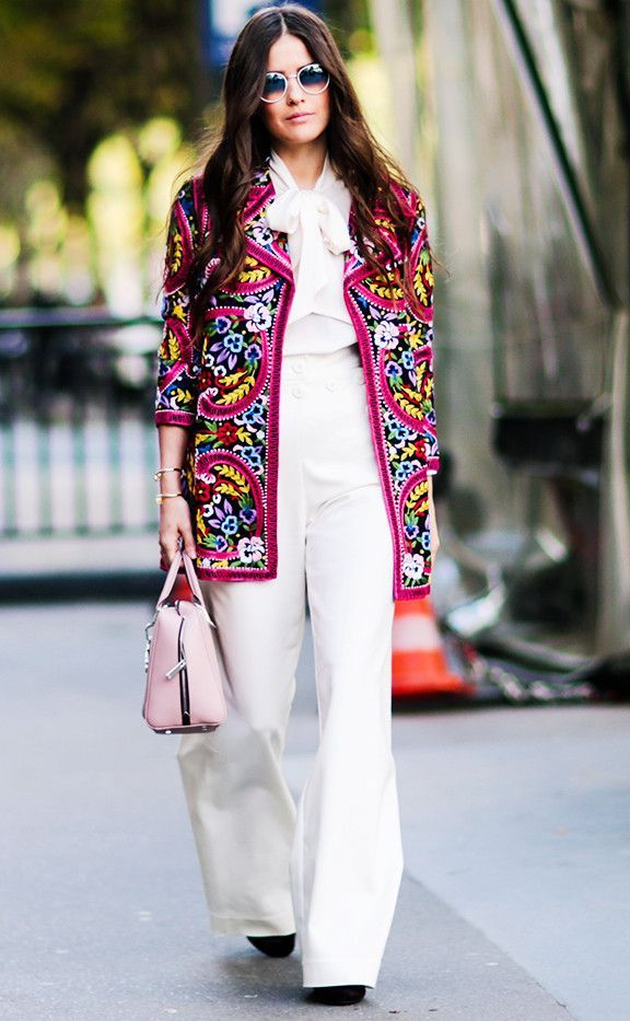 34 Chic Street Style Looks From Paris Fashion Week via @WhoWhatWearUK