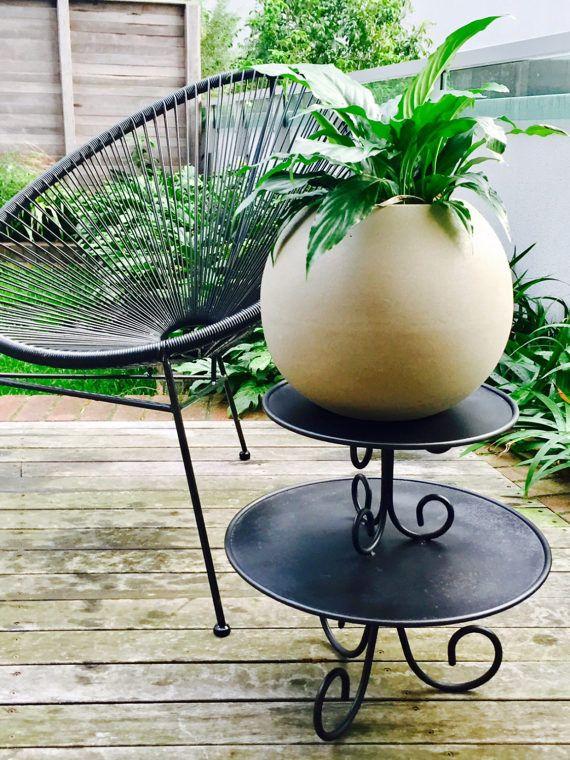 Restored Vintage Plant Stand
