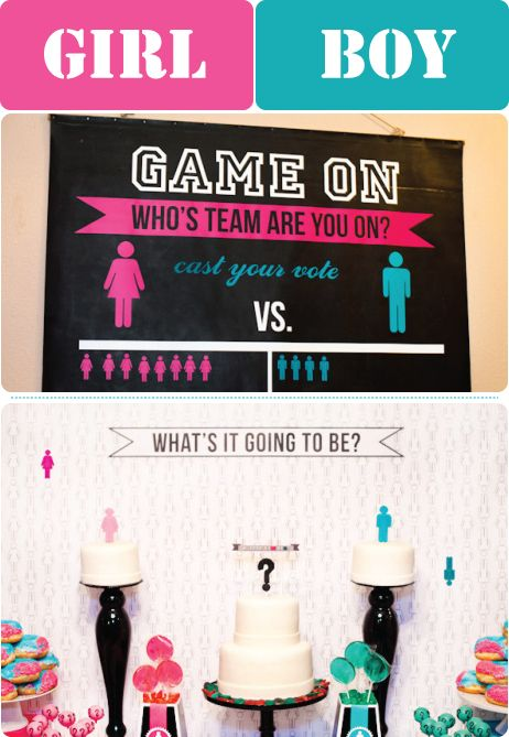 find this pin and more on gender reveal baby shower ideas - Gender Reveal Baby Shower