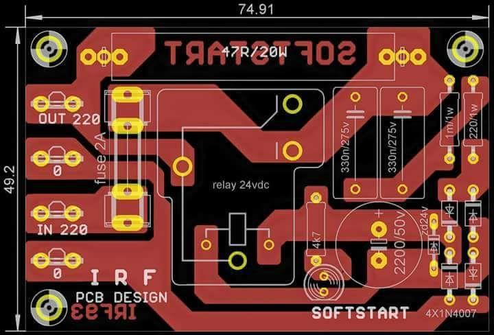 Soft Start Power Amplifier