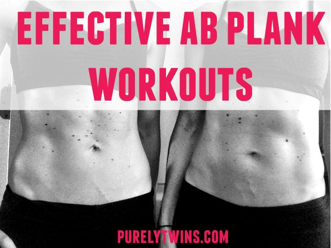 most effective ab workouts – collection of #plankworkouts  #fitfluential