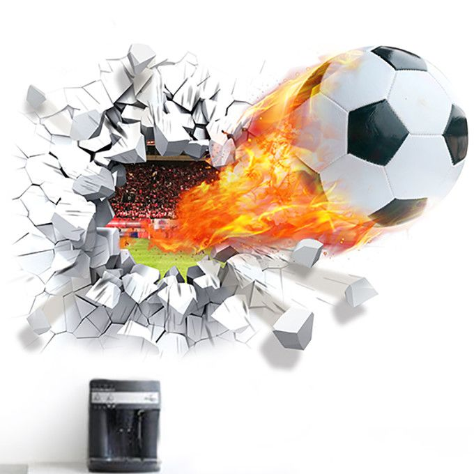 Scorched Soccer Score!!! Wall Decal